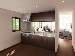 カタログ用イメージCG:キッチン